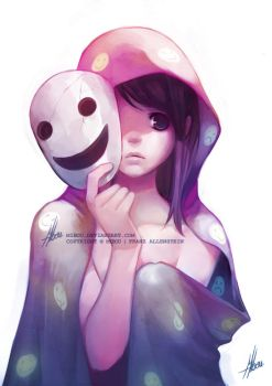 A smile as a mask by mibou