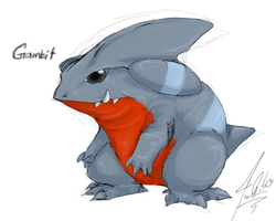 PokeDoodle - Gible