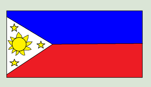 Philippines Flag by usermicko