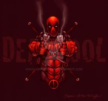 Deadpool - Commission by StephenSchaffer