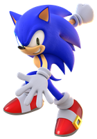 Sonic Adventure 2 Sonic Render by TBSF-YT