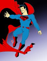 Max Fleisher Superman: colored by Chris-V981