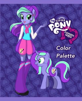 Equestria Girls OC: ColorPalette by Colorpalette-art