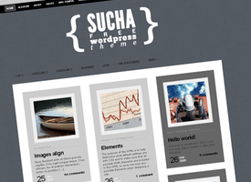 Sucha WordPress Theme by Dannci