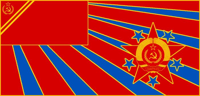 Maritime Ensign of the Premier of the New USSR by RedRich1917