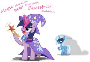 The great and powerful Twilight! by Archonitianicsmasher