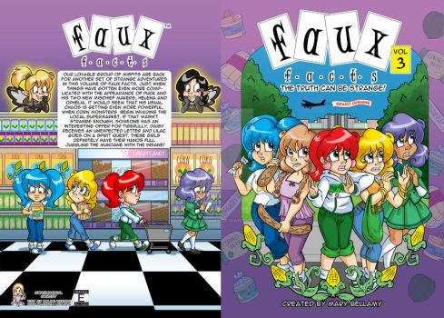 Faux Facts Vol 3 Cover Revised by MaryBellamy