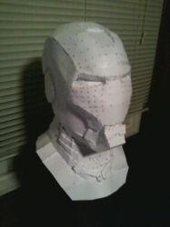 Iron Man Helmet and Neck 01 by newdeal666