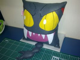 Handmade Anime Pokemon Gliscor Plush Pillow