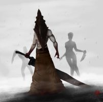 Pyramid Head by Mikael-Art