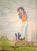 Epic Draw: Lizzie, The Little Gigantic Girl! by kjl03