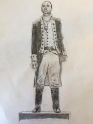 Hamilton Sketch by Purple-Raptor