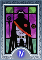 Persona Tarot Card HD - The Emperor by The-Stein