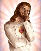 Jesus H. Christ by redghostman