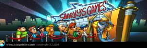 Sharkysgames Header by designfxpro