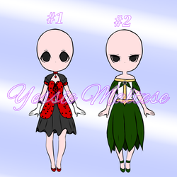 Cheap Dresses Adoptables (Closed) (0/2) by YessieMaltese