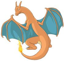...pogheys... Charizard by Rainbow-Cemetery