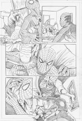 Spider-Man vs The Lizard - pg3 by self-replica