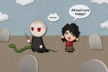 Voldy and Bella Chibi by AtticCreationz2