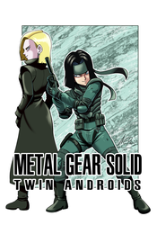 Commission Androides Metal Gear Solid by ACPuig