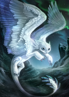 The Mythical Frost Feather by RenePolumorfous