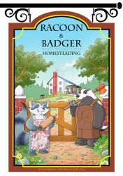Racoon and Badger by Emerson-Lopes