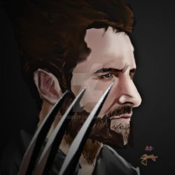 Richard Armitage as Wolverine by 77tiger77