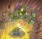 Jarma Queed Lava fight by RobKing21