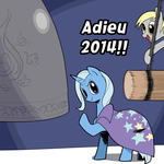 adieu 2014!! by iggler