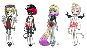(OPEN 1/4) ADOPT 2 - #1 for 200 points by lithiumlolita