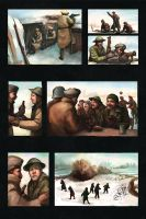 Christmas Truce of 1914 by Pyrosity
