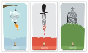 Giacomi Puccini Opera Posters by boyBLUNDER