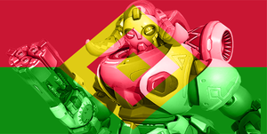 Numbani - Orisa by JMK-Prime