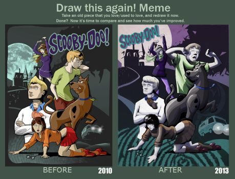 Scooby Dooby Re-doo (A Terrible Night for a Curse) by DanielHooker