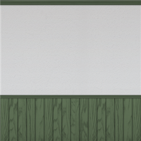White Wall And Panelling (moss green) wp by Rosemoji