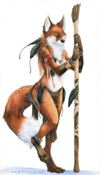 Tribal Feathers by 7x77
