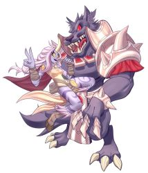 Soraka and Warwick by ChicaG