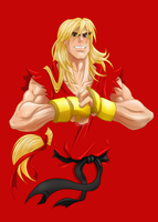 Ken Masters by Jonny5Alves