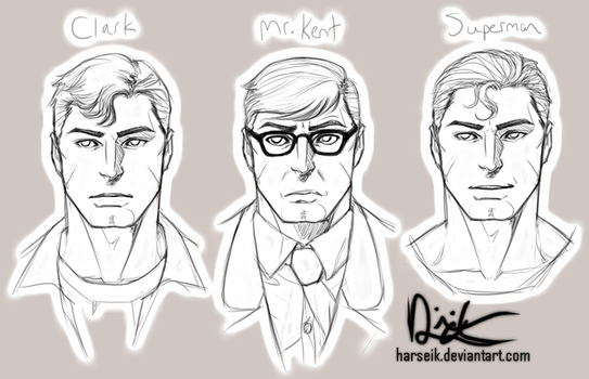 Clark's Multiple Personality Disorder by Harseik