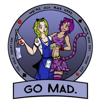 Go Mad by thehaloequation