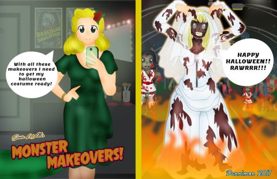 Monster Makeovers Halloween Special by DannimonDesigns