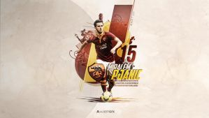 Miralem Pjanic (AS Roma) by AlbertGFX