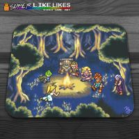 Chrono Trigger Camping Mousepad by likelikes