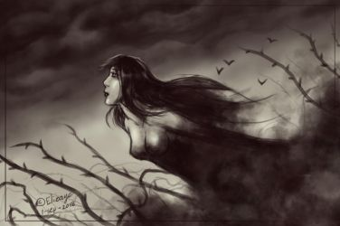 Lady of Darkness by CPT-Elizaye