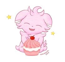 Sweets for Espurr by musogato
