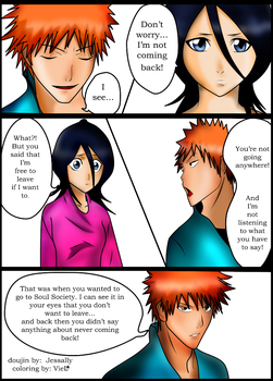 bleach doujin by hao11