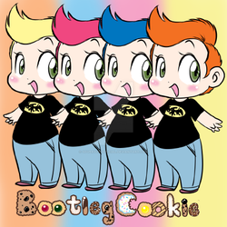 Bootleg Cookie Shiro Sticker Ad by SoVeryUnofficial