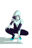 The Amazing Spider-Woman (Gwen Stacy) EoS-V - PNG by TheSuperiorXaviruiz