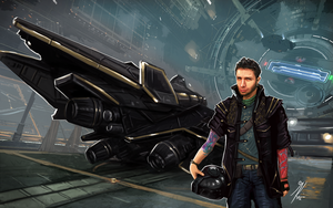 Elite Dangerous: CMDR Tyler J Welch by KevinMassey