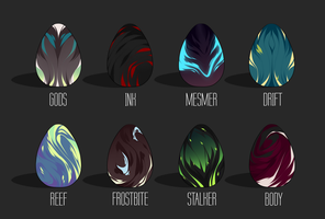 Egg Adoptables Batch 2 [OPEN] by Aenyk